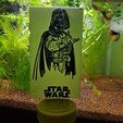 Download 3D printing designs Darth Vader plate, Kana3D