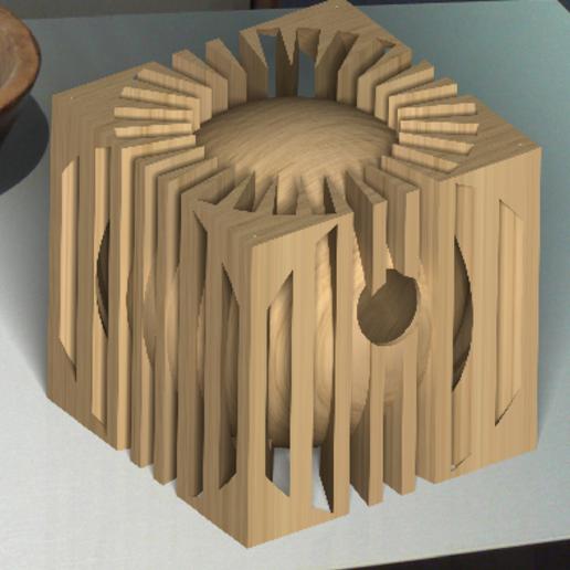 Mangeoire rendu réaliste 2.PNG Download STL file Nesting box birds • 3D printable template, Kana3D