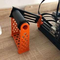 IMG_5886.JPG Télécharger fichier STL gratuit Porte-bobine latéral pour Ender 3 ou similaire • Objet pour impression 3D, DanySanchez