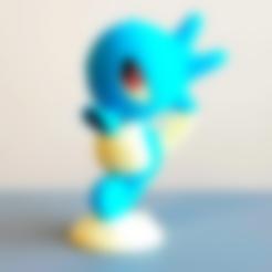 Horsea-3-black.stl Télécharger fichier STL gratuit Horsea Pokemon (Multicolore) • Plan à imprimer en 3D, DanySanchez