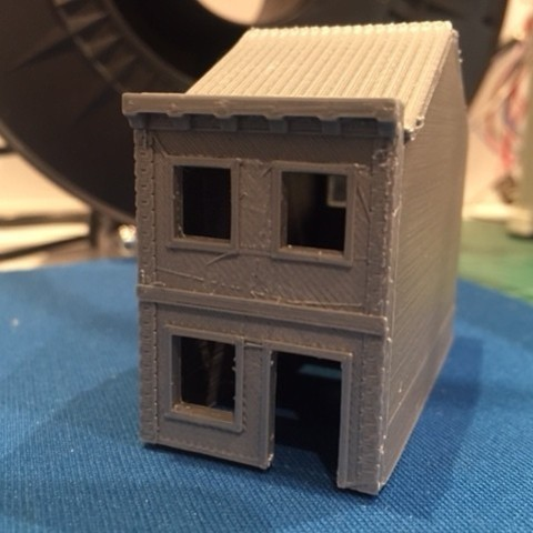 FOTO 02.JPG Download STL file Townhouse Escala (N) • 3D print model, 3DAKSER