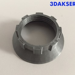 Download free 3D printing files Lamp holder nut E-14 IKEA, 3DAKSER