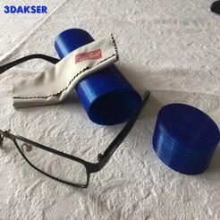 Descargar archivos STL Funda para gafas graduadas, 3DAKSER