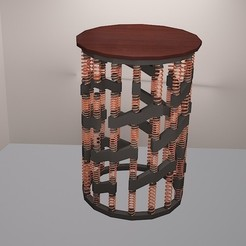 Download free 3D printing designs SPRINGO STOOL, dhruv