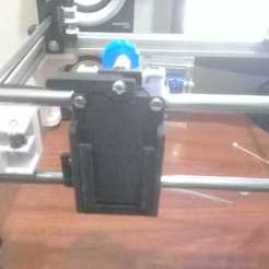 carro xz 05.jpeg Download STL file Hypercube X carriage mod - quick fit  • 3D printer design, jac224