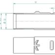 Free stl files Dyson DC to Kärcher Vacuumcleaner Nozzle Adapter, ewap