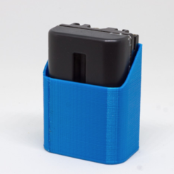 Free Sony FM500H Battery Holder 3D model, ewap