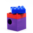 Impresiones 3D gratis Bomba de mármol para construir una máquina de mármol Hubelino, ewap