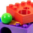 Free 3D printer designs Marble Pump to build a Hubelino Marble Machine, ewap