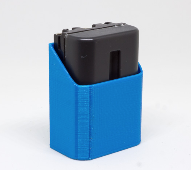 Capture d'écran 2017-10-31 à 15.38.30.png Download free STL file Sony FM500H Battery Holder • 3D printer design, ewap
