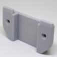 Capture d'écran 2017-10-31 à 15.39.31.png Download free STL file Klickfix wall mount for Ortlieb handlebar bag • 3D printable model, ewap