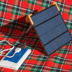 Download free 3D printing models Solar Panel Stand for Increased Energie Harvesting, ewap