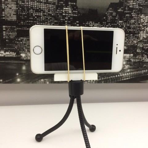 IMG_4748.JPG Download free STL file Telephone holder for tripods • 3D printer design, arth