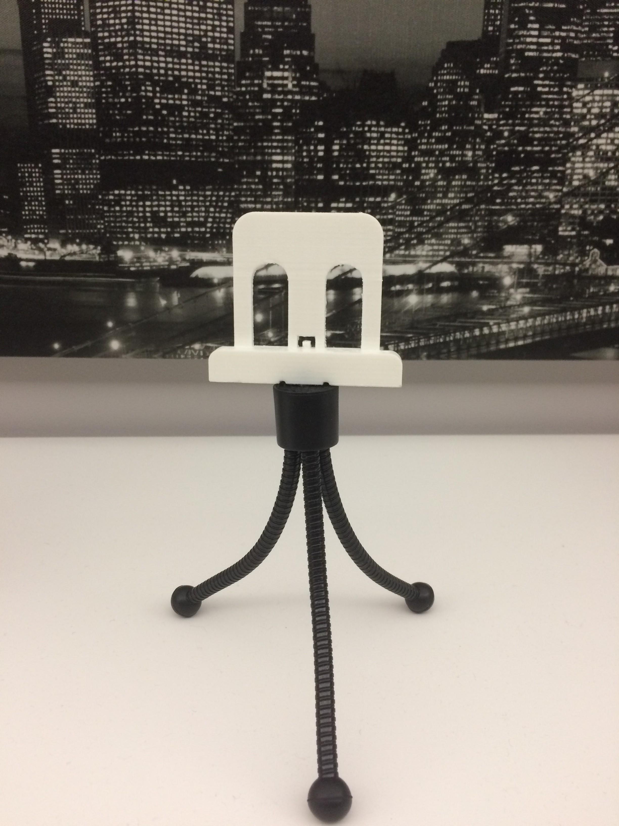 IMG_4742.JPG Download free STL file Telephone holder for tripods • 3D printer design, arth