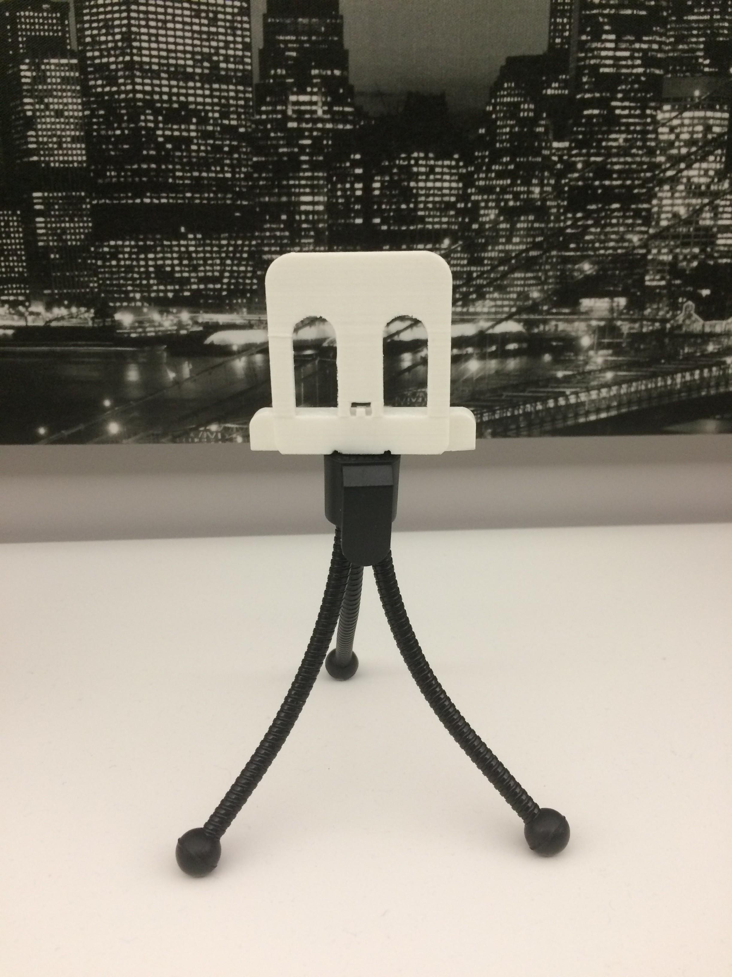 IMG_4743.JPG Download free STL file Telephone holder for tripods • 3D printer design, arth