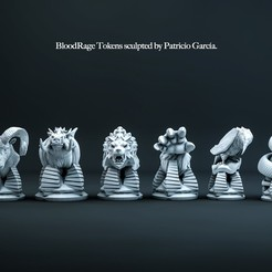 final copia.jpg Download STL file Blood Rage Pack • 3D printer design, pachy_arg