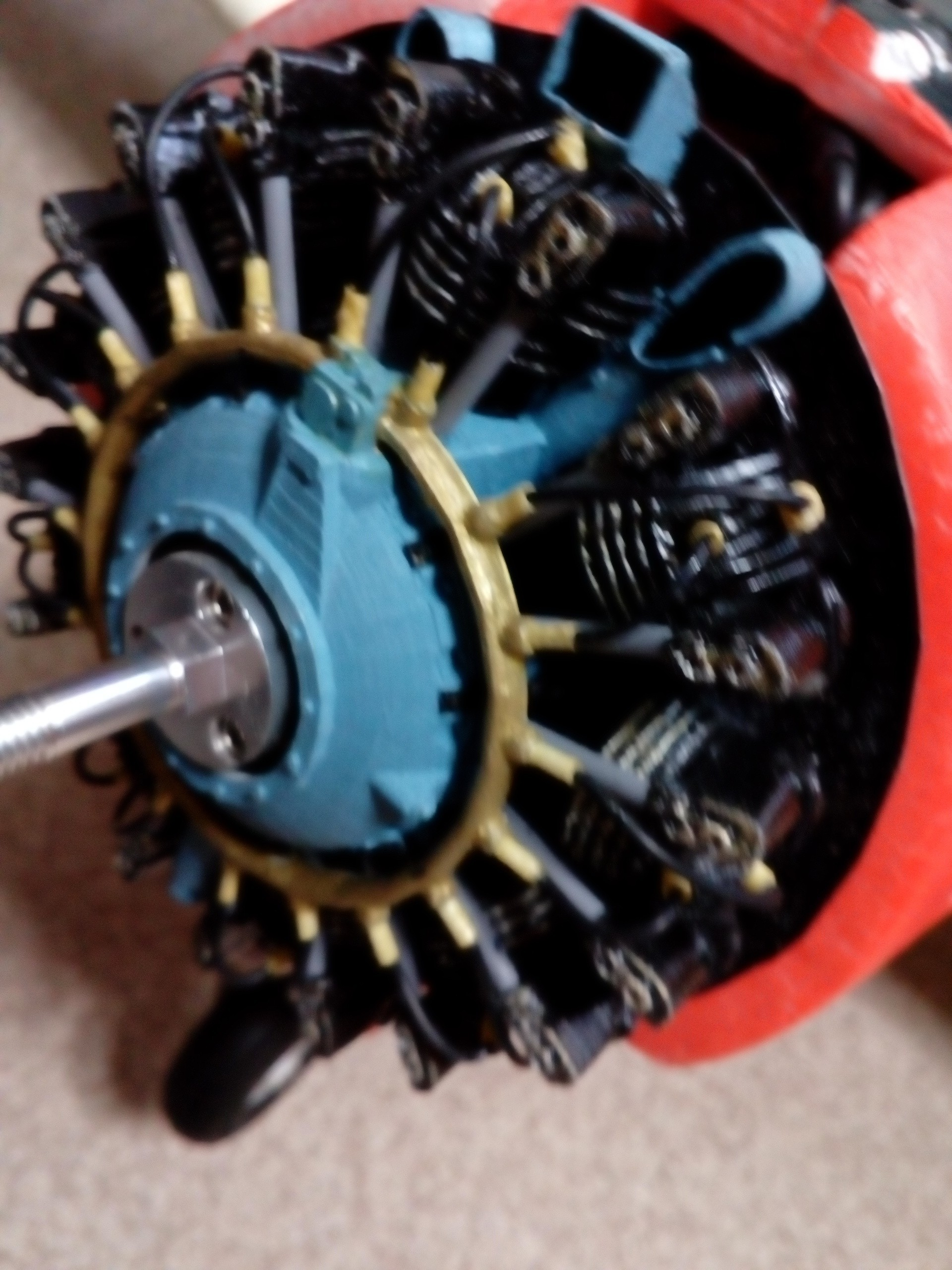 IMG_20170620_153850.jpg Download STL file DUMMY RADIAL ENGINE • 3D printing design, zzizitop