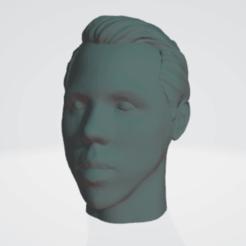 tevez.png Télécharger fichier STL Carlos Tévez Footballer Boca • Plan pour impression 3D, MartinEBorda