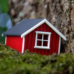 Free 3D printer model NORWEGIAN HOUSE - RORBU -, SEA