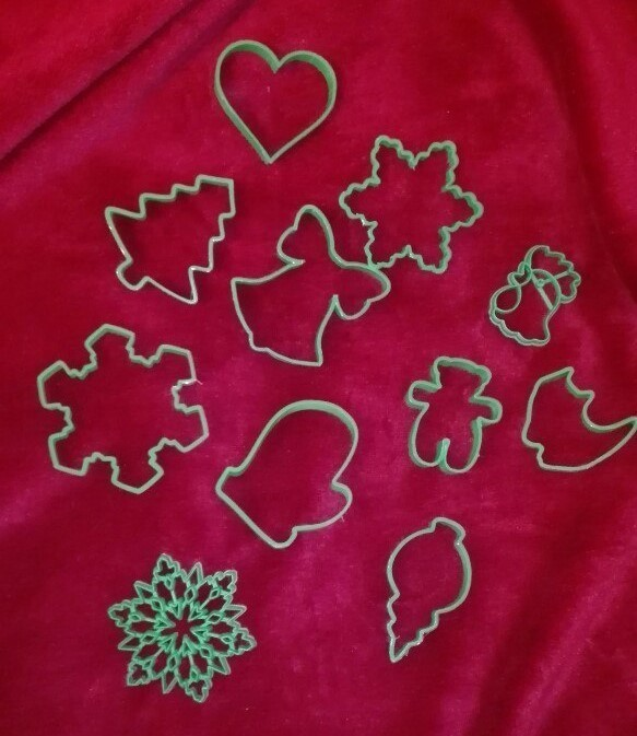 9eUdgPQ-Nbw.jpg Download free STL file Simple snowflake cookie cutter • 3D printer model, arkcol