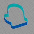 Download free STL file Mitten cookie cutter • 3D printer design, arkcol