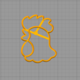 Download STL file Cockerel cookie cutter • Design to 3D print, arkcol