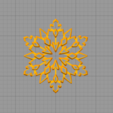 Download STL file Snowflake cookie cutter • Object to 3D print, arkcol