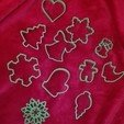 Download free 3D printing designs Simple snowflake cookie cutter, arkcol