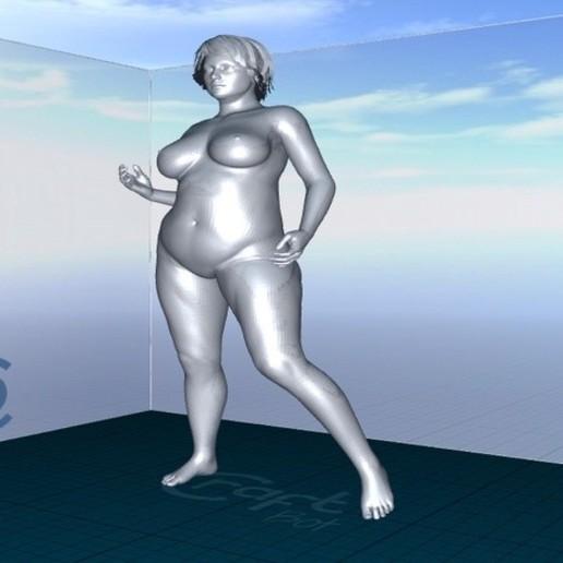 Download 3D printer designs Frauenkörper nach Vorbild 10-14 girl, 3dstc