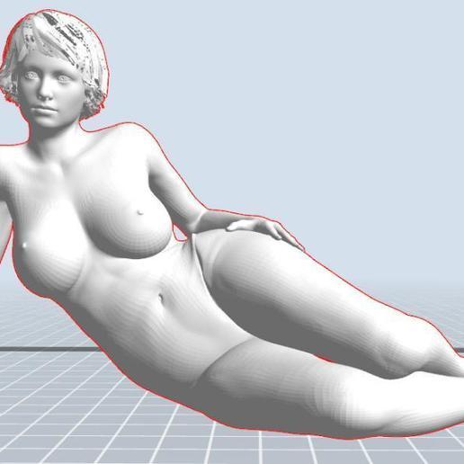 Download STL file Frauenkörper nach Vorbild 10-10 girl, 3dstc