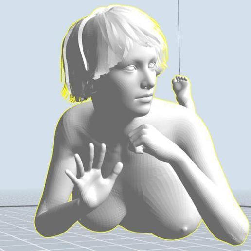 Download 3D printing files Frauenkörper nach Vorbild 10-17 girl, 3dstc