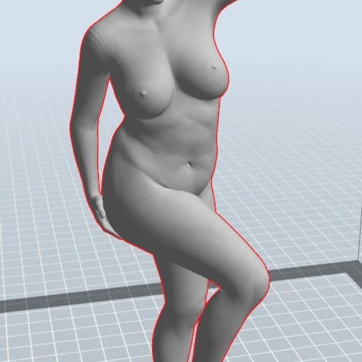 Download 3D print files Frauenkörper nach Vorbild 10-11 girl, 3dstc