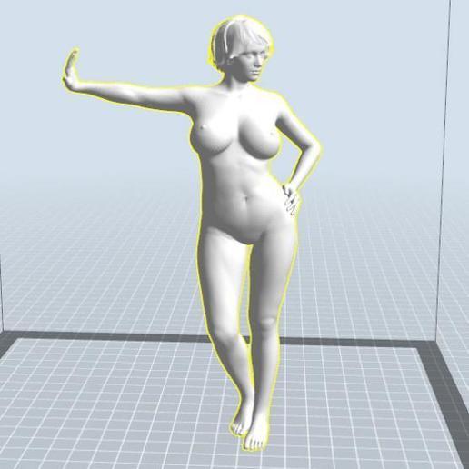 Download 3D printing templates Frauenkörper nach Vorbild 10-15 girl, 3dstc