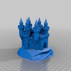 Download free STL file Grand Castle Bayern, 3dstc