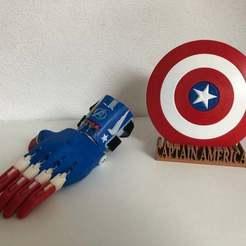 IMG_0359.jpg Télécharger fichier STL gratuit e-NABLE Phoenix Hand captain america • Objet pour impression 3D, lilredji