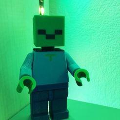 49656260_10215947648742187_5500566690456403968_n.jpg Télécharger fichier STL gratuit Lego Zombie Minecraft Multi-extrusion • Objet à imprimer en 3D, lilredji