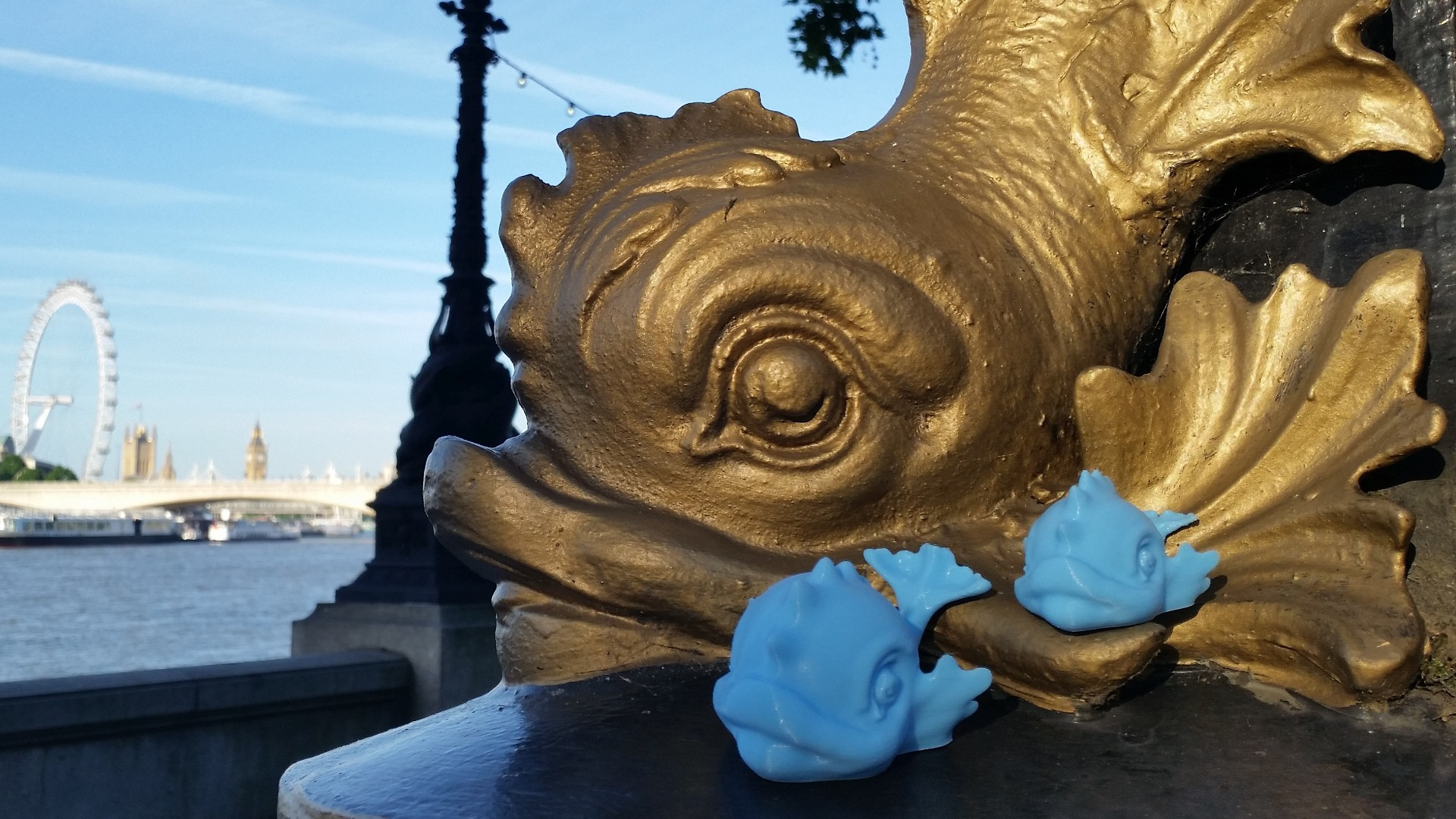 Baby Thames Dolphin Toy 1920.jpg Télécharger fichier STL gratuit Jouet de dauphins de bébé Tamise • Design pour impression 3D, MaxFunkner