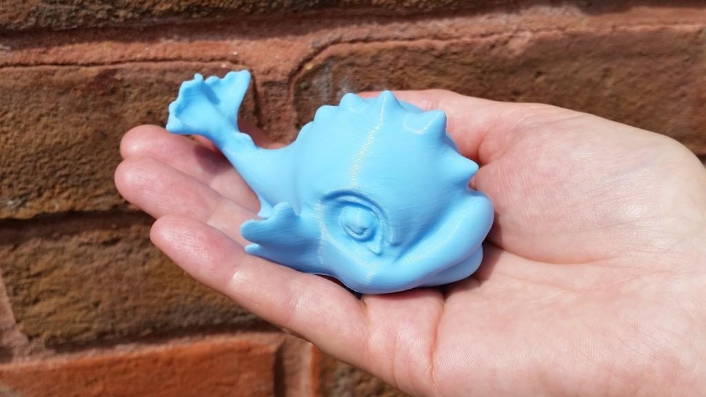 Baby Thames Dolphin Toy 1024.jpg Télécharger fichier STL gratuit Jouet de dauphins de bébé Tamise • Design pour impression 3D, MaxFunkner