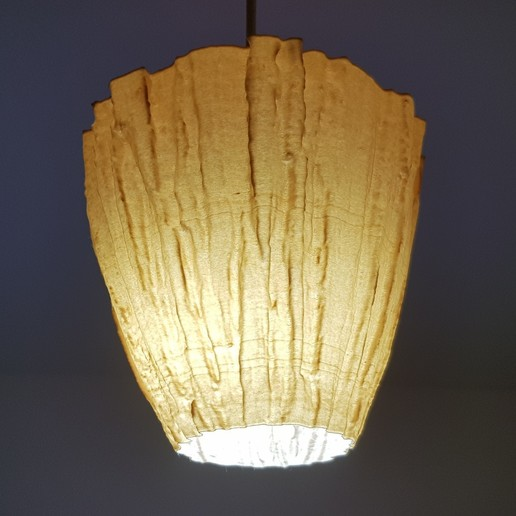 3D Scanned Tree Texture - Pine Lamp Shade 1000.jpg Download STL file 3D Scanned Pine Tree Texture - For Functional and Decorative Items • 3D printing model, MaxFunkner