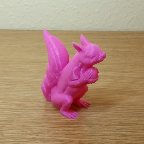 Plan 3D gratuit Squizzle! A No Support Squirrel Sculpt, 3DWithUs