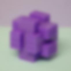 part01.stl Download free STL file Brain teaser • 3D printable design, Boxplyer