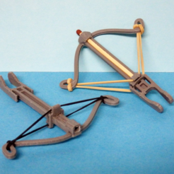 Download free STL file Crossbow for match V2 • Template to 3D print, Boxplyer