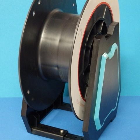 Descargar STL gratis husillo para porta bobinas Alfawise / axe pour porte-bobine Alfawise, Boxplyer