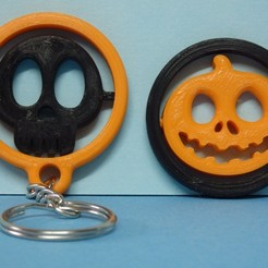PA055214.JPG Download free STL file Gadget et Keychain Halloween • 3D print model, Boxplyer