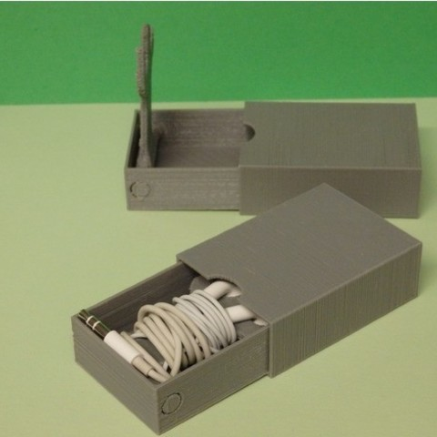 9006ec1fc818f182f9d3f6503ee0387f_preview_featured.JPG Download free STL file Headphones case • 3D printing design, Boxplyer