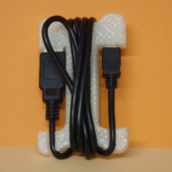 Descargar archivos 3D gratis USB cable tie, Boxplyer