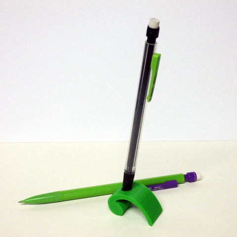Download free STL file Pencil holder in the form of a comma • 3D printing template, Boxplyer
