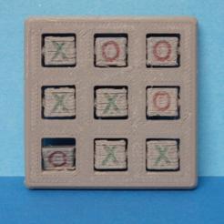 Modelos 3D gratis TIC TAC TOE, Boxplyer