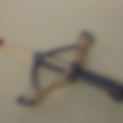 Download free STL file Crossbow for match / crossbow for match • 3D print object, Boxplyer