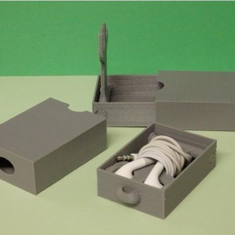 c2d4c198edd8aa8cd21c2c60604ebb4f_preview_featured.JPG Download free STL file Headphones case • 3D printing design, Boxplyer